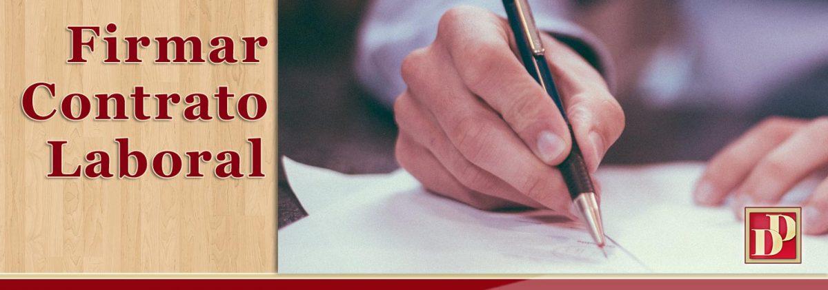 ¿Qué contenido mínimo tiene que tener cualquier contrato laboral o de trabajo? Y, ¿según el tipo?